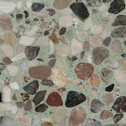 Eco-Terr Tile Cayman Green | Planchas de piedra natural | COVERINGSETC