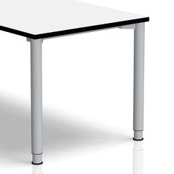 Rondana Schreibtischsystem | Gestell | Einzeltische | Assmann Büromöbel