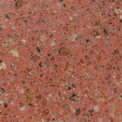 Eco-Terr Tile Porfirio Red | Panneaux | COVERINGSETC
