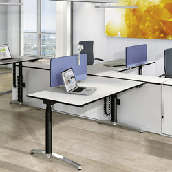 Canvaro desking programme | Tables collectivités | Assmann Büromöbel