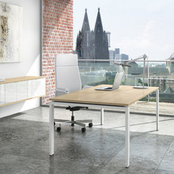 Solos Desk | Contract tables | Assmann Büromöbel