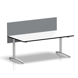 Viteco Partitioning system | Table dividers | Assmann Büromöbel