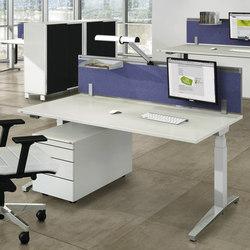 Viteco Stellwandsystem | Tischpaneele | Assmann Büromöbel