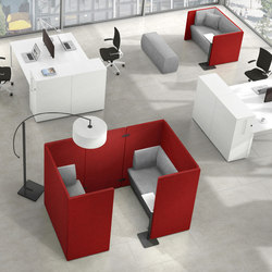 Syneo Lounge furniture | Brainstorming / Short meetings | Assmann Büromöbel