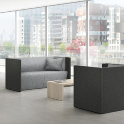 Syneo Lounge furniture | Lounge sofas | Assmann Büromöbel