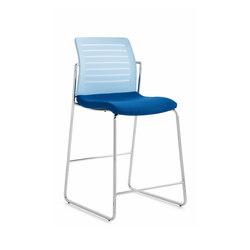 Frame Stool Mesh | Bar stools | Emmegi