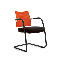 Free Mesh | Visitors chairs / Side chairs | Emmegi
