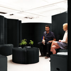 benchwall | black paper | Lounge-work seating | molo