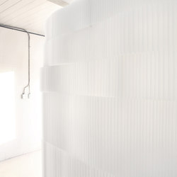 softblock | modified textile | Space dividers | molo