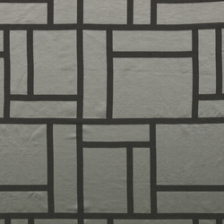 Palazzo Dark Silver | Tissus pour rideaux | Johanna Gullichsen