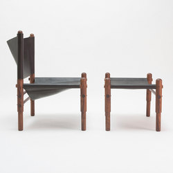 Sling Chair Walnut | Lounge chairs | Workstead