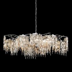 Arthur chandelier oval | Ceiling suspended chandeliers | Brand van Egmond