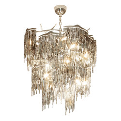 Arthur chandelier conical | Ceiling suspended chandeliers | Brand van Egmond