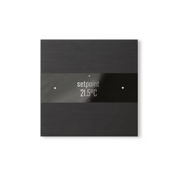 Deseo brushed black | KNX-Systems | Basalte