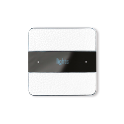 Deseo white leather | KNX-Systems | Basalte