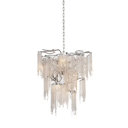 Victoria chandelier conical | Ceiling suspended chandeliers | Brand van Egmond