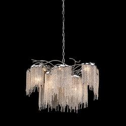 Victoria chandelier round | Ceiling suspended chandeliers | Brand van Egmond