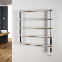 Laura Electric polished stainless steel | Radiators | Cordivari