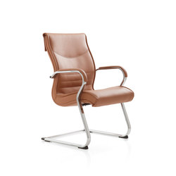 Pulchra | Visitors chairs / Side chairs | Emmegi