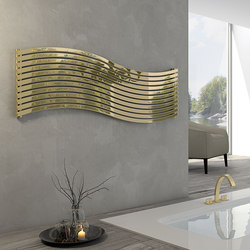 Lola Gold horizontal stainless steel | Radiators | Cordivari