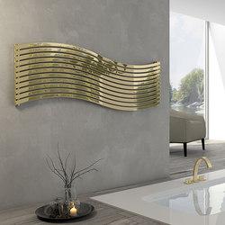 Lola Gold horizontal stainless steel | Radiadores | Cordivari