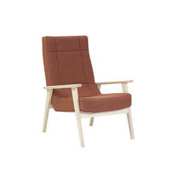 Lomo One Seater | Loungesessel | Bark