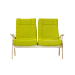 Lomo Two Seater | Lounge sofas | Bark