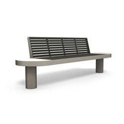 Comfony 90 bench | Exterior benches | BENKERT-BAENKE