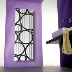 Rosy Graphic Ring vertical | Radiators | Cordivari
