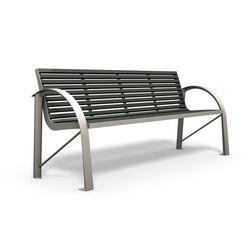 Comfony 120 bench | Bancos de exterior | BENKERT-BAENKE