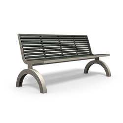 Comfony 140 bench without armrests
