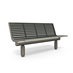 Comfony 400 bench without armrests | Exterior benches | BENKERT-BAENKE