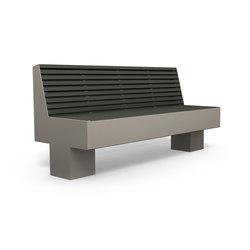 Comfony 800 bench 1810 | Bancos de exterior | BENKERT-BAENKE