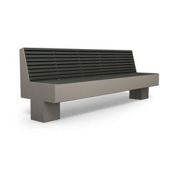 Comfony 800 Bench 2410 | Benches | BENKERT-BAENKE