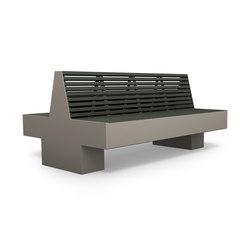 Comfony 800 double bench 1810 | Bancs publics | BENKERT-BAENKE