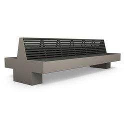 Comfony 800 double bench 2990 | Panche da esterno | BENKERT-BAENKE