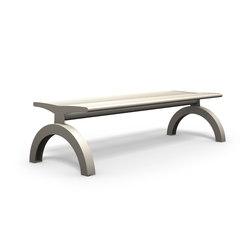 Siardo 140R stool bench | Exterior benches | BENKERT-BAENKE