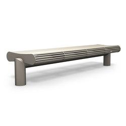 Siardo 600R stool bench | Exterior benches | BENKERT-BAENKE