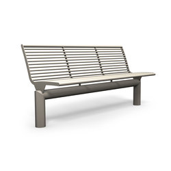 Siardo L40R bench without armrests