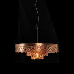Gladys Chandelier copper | General lighting | Bsweden