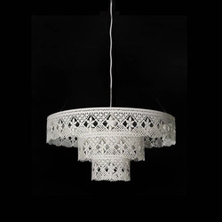 Gladys Chandelier white steel | General lighting | Bsweden