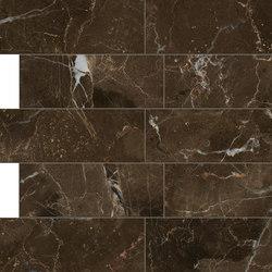 Anima Dekore Composizione L | Dark Emperador | Floor tiles | Caesar
