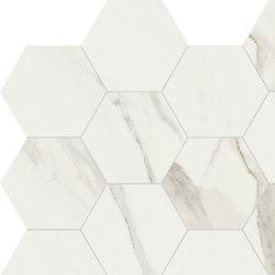 Anima Decori Esagono | Calacatta Oro | Piastrelle/mattonelle per pavimenti | Caesar