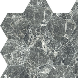 Anima Decors Esagono | Grey St.Laurent | Ceramic tiles | Caesar