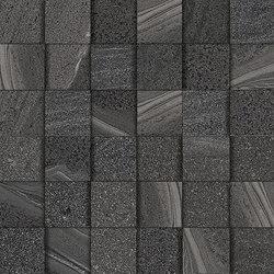 Lake black mosaic 3D | Ceramic mosaics | Ceramiche Supergres