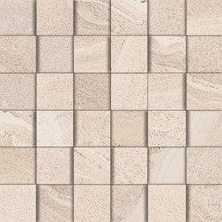 Lake ivory mosaic 3D | Ceramic mosaics | Ceramiche Supergres