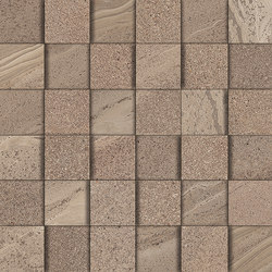 Lake tan mosaic 3D | Ceramic mosaics | Ceramiche Supergres