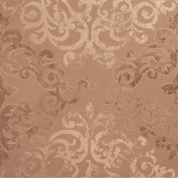 Visual reddish campitura damask | Lastre | Ceramiche Supergres