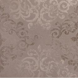 Visual umber campitura damask | Ceramic slabs | Ceramiche Supergres
