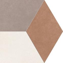 Visual reddish|umber|ivory modular idro | Platten | Ceramiche Supergres